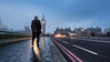 Heading Home (Colin_Evans) Tags: fog mist sunrise bridge dawn daybreak england uk london westminster big ben bigben clock tower road