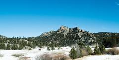 Cool Rock Formation (joshhansenmillenium) Tags: nikon photography d5500 laramie wyoming colorado nature adventure rooseveltnationalforest nationalparks sunset rokinon 24mm rokinon24mm landscape panorama