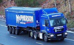 MAN - McPHERSON Aberlour Morayshire (scotrailm 63A) Tags: lorries trucks tankers mcpherson