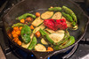 Colorful Vegetables Cooked in a Cast Iron Pan (takasphoto.com) Tags: action activity americanfood black castiron castironpan chef color cook cooking cookingequipment cookingtool equipment food foodporn fryingpan fuji fujifilm fujifilmxa1 fujifilmxc1650mmf3556oiszoomlens fujinon fujinonlens fujinonxserieslens fujinonxc fujinonxc1650mmf3556oiszoomlens green ingredient kitlens kırmızı lens légume mirrorless mirrorlesscamera orange pan panfry red rojo rosso rot rouge rød tool vegetables vegetales verde verdura vermelho widezoomlens xa1 zoomlens đỏ красный красныйцвет овощи ירק أحمر خضار سرخ उंचः สีแดง あか みどり オレンジ フジノン フジフィルム ミラーレス 丹 朱 橙色 紅 緋 緑