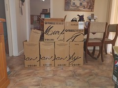 We may have bought some wine...