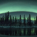 Aurora borealis arc