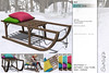 Sway's [Lumi] Sled . vivids | TLC (Sway Dench / Sway's) Tags: tlc sways sled winter snow seat pillow furniture