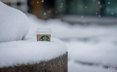 Starbucks in the snow (Daniel's Clicks) Tags: