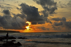 Solitude (ashekrahaman) Tags: sunset beach indonesia bali