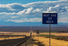 Sign for Next Gas 179 Miles along NV 140 in Nevada (Lee Rentz) Tags: lakeview long nv140 nevada americanwest basinandrange distances distant gas highway landscape lonely northamerica oregon remote road route sign usa vast warning west