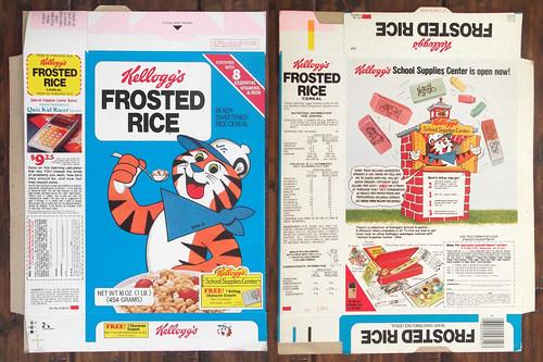 Vintage 1980 Kellogg