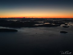 San Juan Islands sunrise - iPhone7+ (1 of 1) (DavidGuscottPhotography) Tags: red sunrise dawn