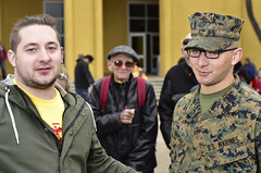Graham, Scott and Bill (Jon_Marshall) Tags: scott marines marine bootcamp graduation marinecorpsrecruitdepot sandiego mcrd graham
