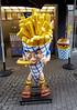 Chip Man (cowyeow) Tags: chips fries burger burgers restaurant food street city europe frankfurt germany funny weird german design