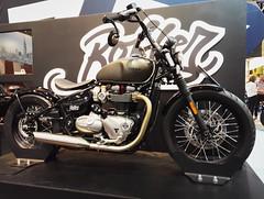 Custom Triuph (samyderni) Tags: honor 7 bike motorcycle moto custom design tyre tyres pneu pneus paint painting engine moteur bobber triumph bicylinder