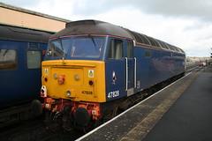 47828 (srh474) Tags: 47 828 class dartmoor railway okehampton meldon