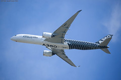 Paris Air show 2015 Airbus A350 (Validation flight) (AlainG) Tags: airshow parisairshow airbusa350 a350 meetingaerien a350xwb pas15 saloninternationaldubourget validationflight