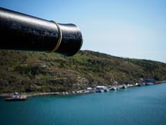 Under the Gun (Tk_White) Tags: st canon newfoundland prime mark hill battery olympus ii 18 signal johns omd 25mm em5