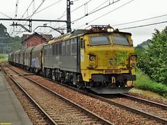 251 (firedmanager) Tags: train tren asturias locomotive mitsubishi locomotora ferrocarril renfe trena 251 bobinero renfemercancías