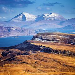 The Scottish Highlands (Zoltan Gabor) Tags: old man mountains skye nature canon landscape coast scotland highlands isleofskye scottish panoramic hills isle oldmanofstorr storr