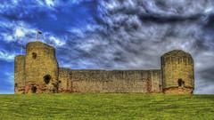 Castell Rhuddlan (Charliebubbles) Tags: canon eos hdr rhuddlan denbighshire photomatix edwardi rhuddlancastle 60d 110515 canoneos60d castellrhuddlan photomatixpro4