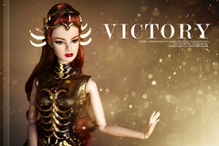 v i c t o r y (PruchanunR.) Tags: fashion toys doll von queen agnes fr weiss constellations royalty integrit