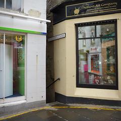 Junction (Andrew Gustar) Tags: street narrow shetland lerwick