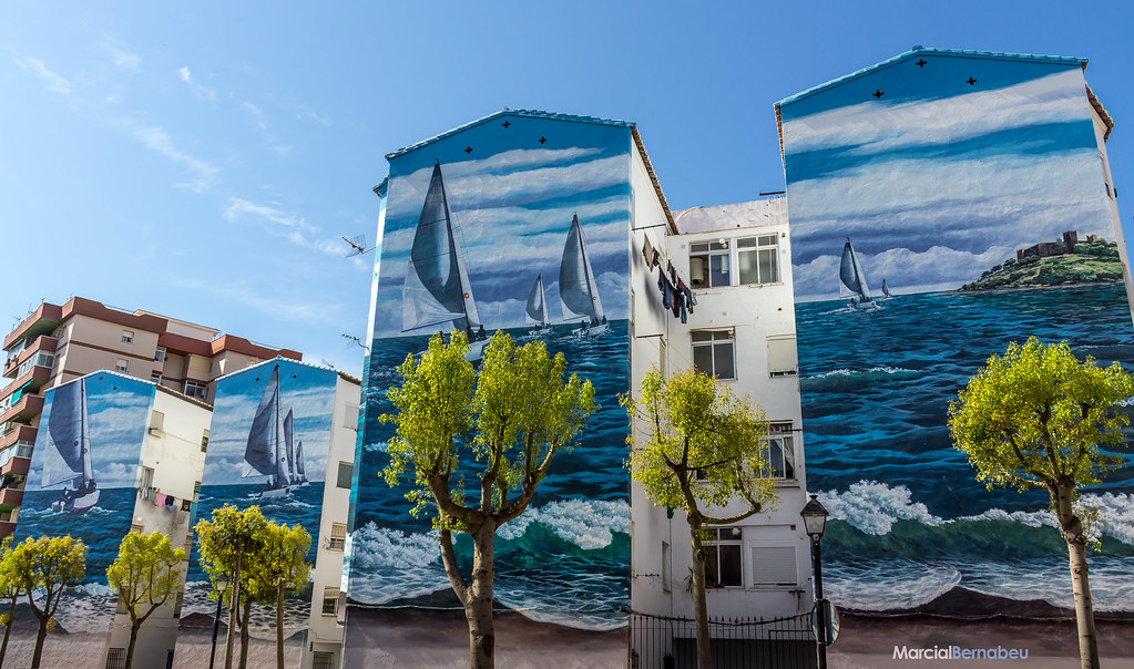 The world 39 s best photos of andalucia and mural flickr - Pinturas andalucia fuengirola ...