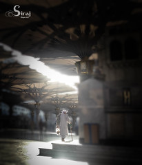 An old man (siraj_alquraish) Tags: man mosque medina saudiarabia  annabawi  almasjid almadinahprovince