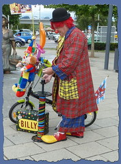 Billy, the Clown (p_jp55 (Jean-Paul)) Tags: clown billy luxembourg luxemburg bouffon saarlorlux remich ltzebuerg rimech spasmacher possenreiser