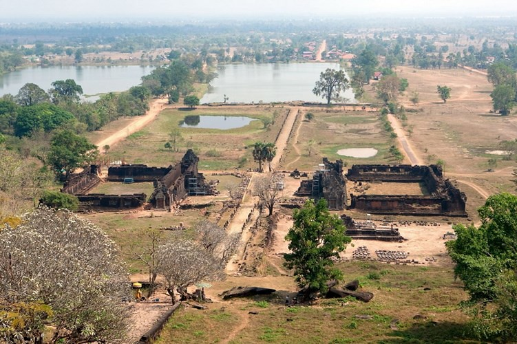 5Wat Phou là đền thờ xưa nhất ở Lào