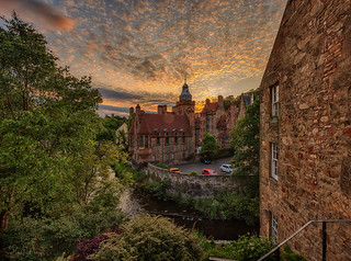 Dean Village, Edinburgh (Thanks for all the Likes & Comments)