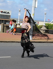 Dancer (DaveWilcock) Tags: festival circus parts transport arts dancer 45 spare fleetwood shapeshifting tramsunday 52in2015 somethingbeginningwithd