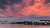 Sky on fire (Pradipta Basu) Tags: longexposure sunset summer sky cloud lake toronto ontario canada nature water canon landscape island eos rocks boulder lee torontoisland centreisland ontariolake ef24105f4l 5dmarkiii lee09ndgrad lee03ndgrad pradiptabasu