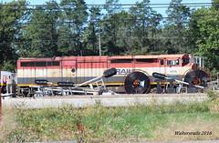 BCOL 4616 Centralia IL (waltersrails) Tags: bcol c408m trains train railroad emd
