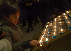 (El Stevo13) Tags: new york city st patrick cathedral candle lighting child kid boy reverence reverie nyc
