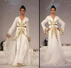 هند علام تقدم تشكيلتها الجديدة من القفطان باللون الأبيض والذهبي لعروس 2017 (Arab.Lady) Tags: هند علام تقدم تشكيلتها الجديدة من القفطان باللون الأبيض والذهبي لعروس 2017