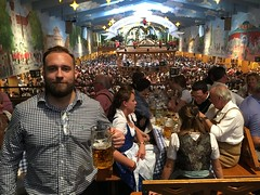 My 3rd time at the Oktoberfest, Munich!