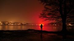 Magic (iluxionlabs) Tags: magic epic spiritual fog stockholm sweden lake sea lights