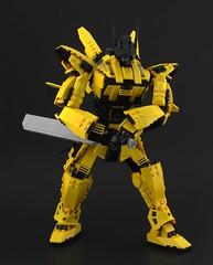 GAV-85W Broadsword (DeadGlitch71) Tags: lego mech mecha gundam sword mobile mobileweapon robot space scfi scifi yellow gun guns armor battlesuit battlearmor military machine jetpack foitsop