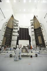 EchoStar XIX Satellite (Lockheed Martin) Tags: echostar echostarxix encapsulation launch atlasv satellite