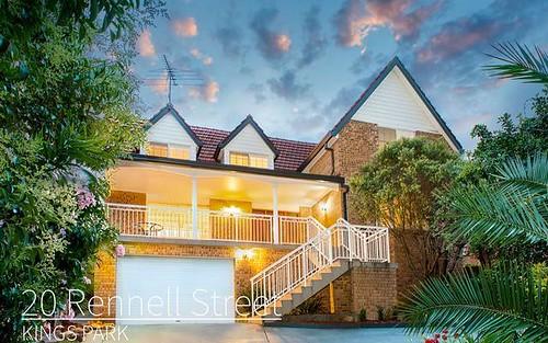 20 Rennell Street, Kings Park NSW