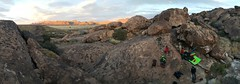 first night of bouldering til sunset (wildblueflax) Tags: hueco tanks