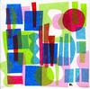 collage1117 (Ben Lyon) Tags: collage tissue atomic midcenturymodern abstract popart googie minimalist