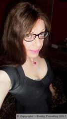 January 2017 (Girly Emily) Tags: crossdresser cd tv boytogirl mtf maletofemale tvchix tranny trans transvestite transsexual tgirl tgirls convincing dress feminine girly cute pretty sexy transgender xdresser gurl glasses indoor