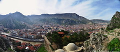 Amasya from the tombs (Rob_Behan) Tags: turkey turkie amasya cityscape tomb above city arial