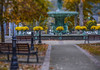 Fall at the Fountain. (Bernie Kasper) Tags: art architecture berniekasper broadwayfountain broadway broadwaycolor d600 flower floral family fall green historic histrorichomes fountain indiana jeffersoncounty landscape light leaf leaves madisonindiana mainstreet outdoors outdoor old outside photography park raw travel tree trees plant water