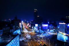 IMG_3034 (Raymond_Lan) Tags: 高雄 kaohsiung 台灣 taiwan 美麗島 美麗島站 夜景 捷運 night mrt 高捷 移軸 city