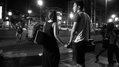 Manila Scenes and People (58) (momentspause) Tags: ricohgr ricoh blackandwhite bw street streetphotography night availablelight ambientlight manila philippines