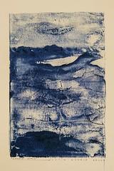 """Cader Idris"" (Justin Barrie Kelly) Tags: justinkelly jbkelly lightanddark welshart modern art tonality justinbarriekelly abstraction justinkellyartist wales markmaking mountain landscapepainting tonal landscape modernart welsh justinbkelly caderidris oilonpaper indigo blue monitone abstracted figurative"