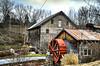 Cook's Old Mill, Greenville, WV (Bob G. Bell) Tags: cooksoldmill mill grainmill gristmill greenville wv westvirginia monroe monroecounty bobbell xpro1 fujifilm leica water wheel