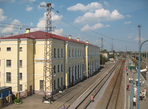 RZD Serpukhov station 2007