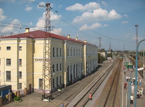 RZD Serpukhov station 2007