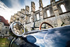 Old car reflects (Herr Ben) Tags: reflects car ruins soisson longpont weding france aisne picardie frog austin healey sprite old